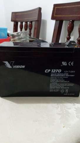 Se venden baterias vision cp1270 12V7.0AH