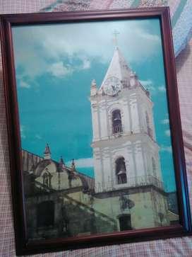 Fotografías enmarcadas de Bogotá