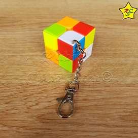 Cubo Rubik Llavero 2x2 Zcube Speedcube Stickerless 3.5cm