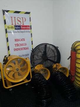 Ventilador Confinados Bomberos Petzl rescate