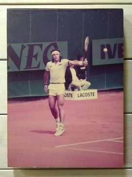 Fotografía Original Guillermo Vilas En Lawn Tennis