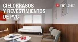 PLACA DE PVC PARA CIELORRASO Rosario, funes, Roldan