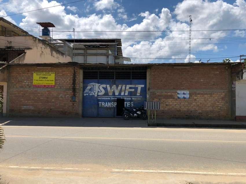 Local comercial 270 mst2 en zona  centro de Tarapoto
