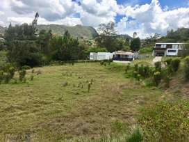 Hermoso terreno de venta, sector Challuabamba