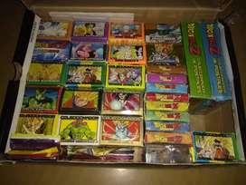 Cartas Dragon Ball colección completa de mazos