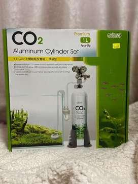 Ista CO2 cilindro de aluminio Set – presión reducido