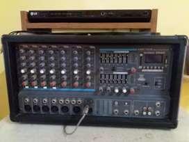 Amplificador + 2 parlantes