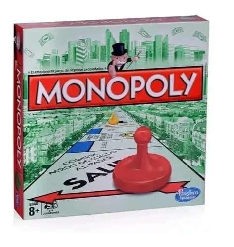 Monopoly Monopolio Juego Hasbro Original