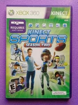 Juego Kinect Sports season 2 para Xbox 360