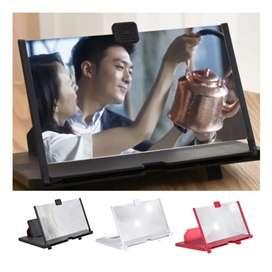 Lupa Amplificador de video HD pantalla de teléfono móvil 5D