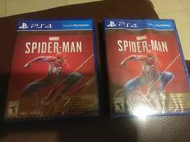 Spiderman game of the year ps4