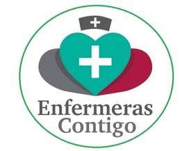 Enfermera a Domicilio en casa y clínica