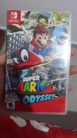Super Mario Odyssey usado en perfecto estado. Precio negociable