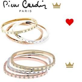 3 Pulseras Pierre Cardin
