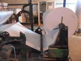Rebobinadora De Papel, Para Fabricar Bobinas 20,40,60 Cm