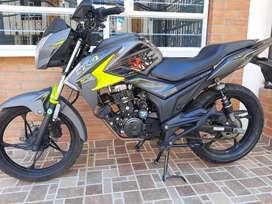 Vendo hermosa moto akt cr4 125 edición especial