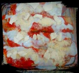 Canelones de Verduras... Poca Sal..