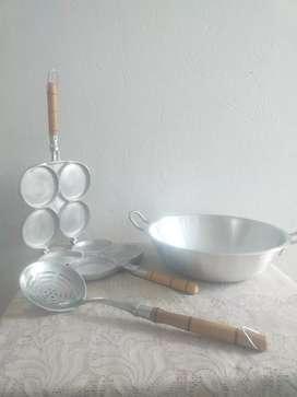 Combo cocina en aluminio fundido