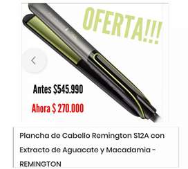 Plancha para el cabello marca Remington