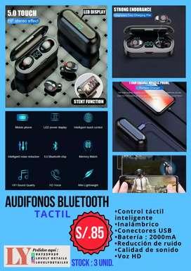 Audífonos táctiles