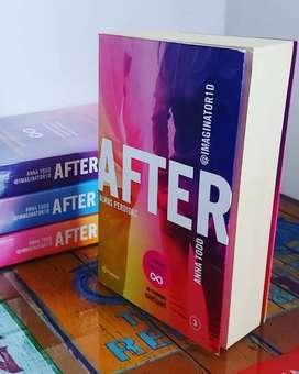 Tercer libro de la saga After