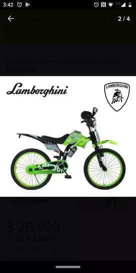 Bicicleta rodado20 para niño modelo moto
