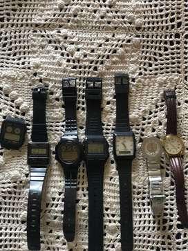 Relojes Casio i otros funcionando 9 de 10