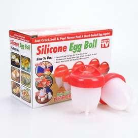 Cocedor hervidor de huevos silicone egg boil x 6 unidades NUEVO