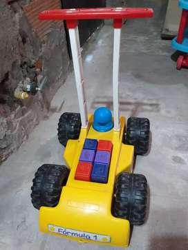 Andador y juguete