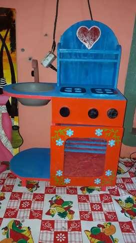 cocinita ideal para chicos