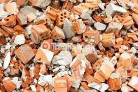 Escombros para contrapiso y calles