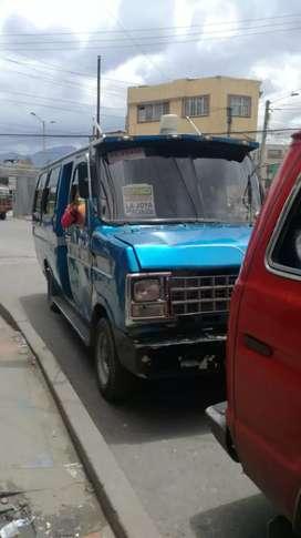 Camioneta de pasajeros