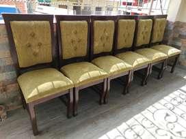 Juego de 6 sillas excelente estado NEGOCIABLE