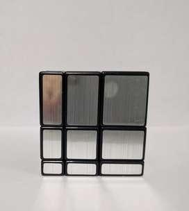 Cubo Rubik 3x3 Mirror Cyclone Boys Plateado. Movimientos rápidos PROMOCIÓN ANTES 35.000