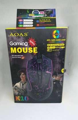 Mouse AOAS K10 GAMER