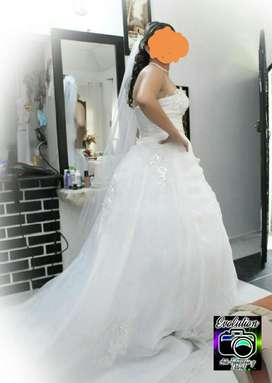 Se Vende Hermoso Vestido de Novia