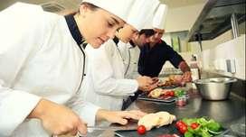 Reconocida cadena de pizzerías a nivel nacional requiere personal de cocina