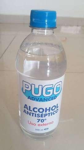 alcohol y sal de amonio cuaternario