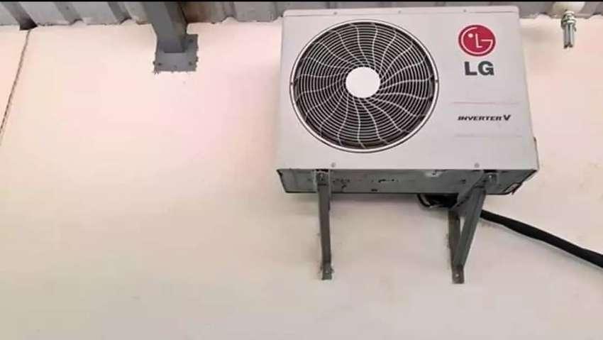Vendo aire acondicionado LG en perfecto estado poko negociable 0