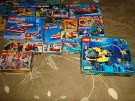 Lego system 21 cajas colección