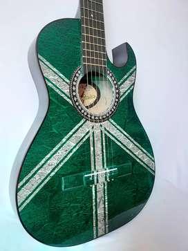 Guitarra Acústica Cuerda de metal