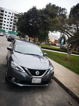 Nissan sentra 1.8 modelo 2017