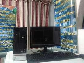 Excelente Computadora HP Original Disco 320 Gb Memoria Ran 4 Gb Procesador Corel dual 2.2 Ghz