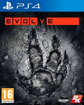 Evolve PS4 - Formato Fisico
