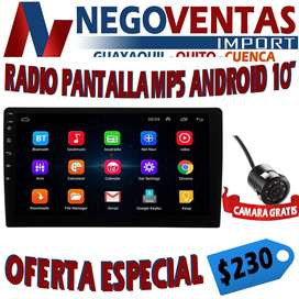 RADIO DOBLE DIN  ANDROID  FULL TOUCH