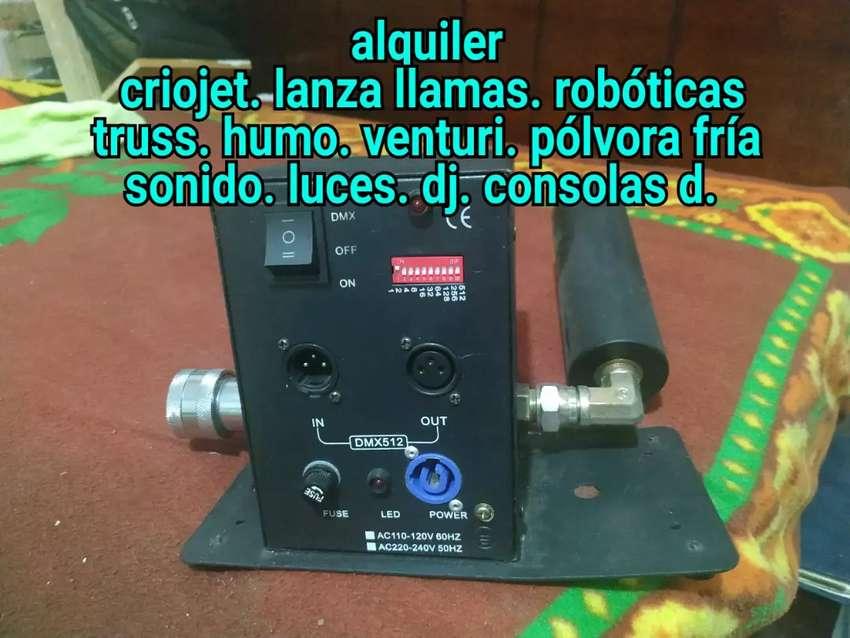 Alquiler criojet sonido truss 0