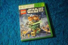 LEGO STAR WARS 3 XBOX 360 Y XBOX ONE ORIGINAL