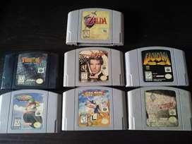 Cartuchos para Nintendo 64
