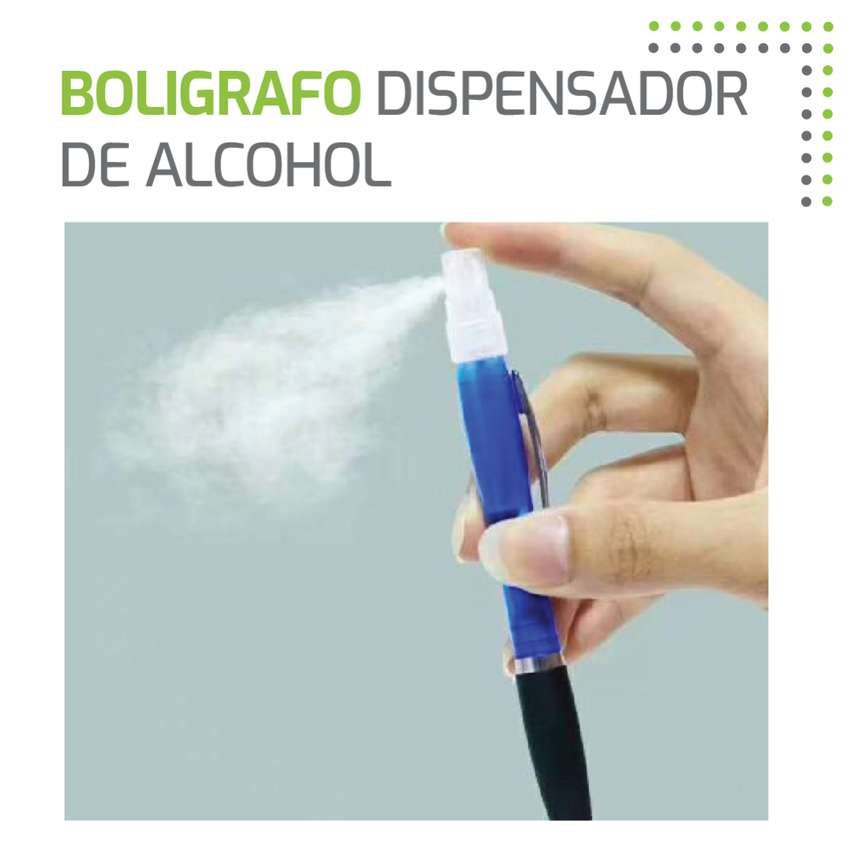 Bolígrafo dispensador de alcohol 0