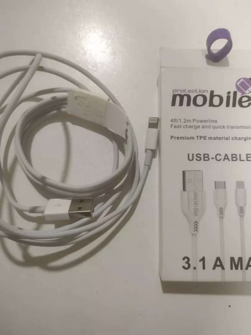 Cable USB nuevo iPhone
